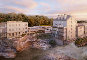 New Spa Coming to Elora Mill, Ontario