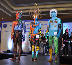 CIDESCO Gets Creative with Body Art in India