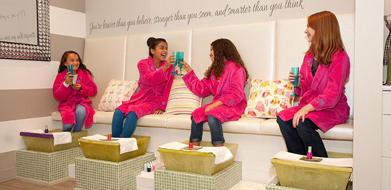 Pretty In Pink Spa Studio