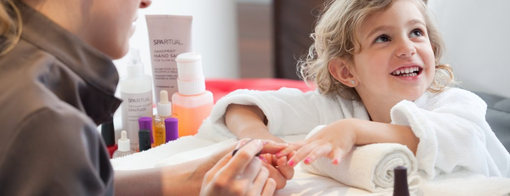 Spa Treatments For Young Clients